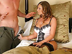 housewife  lingerie  from behind  doggy  big tits  bouncing tits  moan  emotional Devon Lee  Jimmy Bean  Jordan Ash