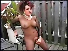 brunette masturbation outdoor big tits big dick