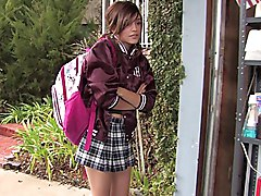 schoolgirl  cute  babe  teen  skirt  mini skirt  flirty  short hose  teen  teen sex  brunette  lick  skinny  ass lick  garage Melanie Jane