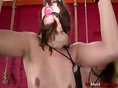 fetish rough sex hardcore threesome toys dildo blowjob whipping face fuck