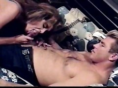 titty milf riding cock hairy pussy deep throat
