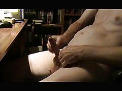 Webcam Wank And Cum