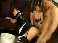 maid dressup lingerie sex fuck blowjob oral suck l