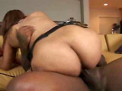 ebony long cock dick creamy stuff pussy feeding