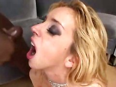 group sex double penetration cum swallowing interracial facial