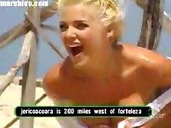 Beach Blondes Celebrities Flashing Nipples