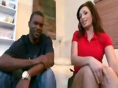 milf interracial big tits doggystyle big black cock cumshot blowjob facial