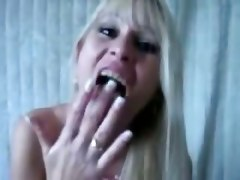 amateur homemade couple pov wife girlfriend deepthroat face fuck gagging handjob blowjob lingerie tittyfuck cumshot facial blonde big tits