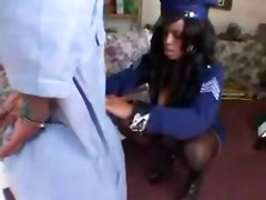 midget freaky bbw ebony black cop policewoman bizarre extreme costume fetish