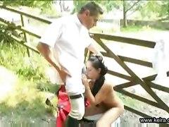 anal facial teen black outdoor girl riding swallow public training hair trainer keira
