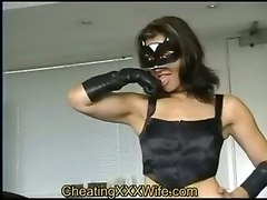 homemade amateur milf wife bizarre extreme hardcore fisting fetish latex lingerie stockings masturbation solo brunette