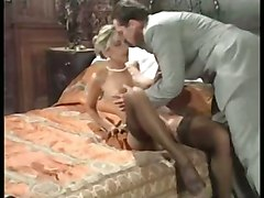 anal stockings cumshot facial pussy blonde blowjob fingering pussyfucking