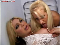 fetish doctor nurse skinny cock two blondes