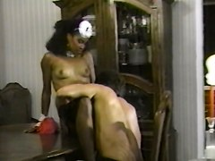 Black and Ebony Facials Vintage