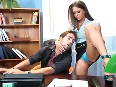 office sex blowjob cum deep throat facial