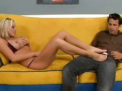 hot babe shlong sweet end tender feet