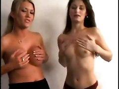 lesbians sex toys lick tits dildo