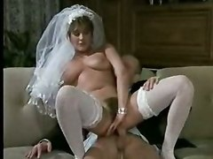 threesome vintage blowjob lick stockings
