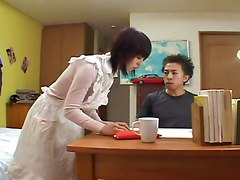 cumshot hardcore blowjob pussylicking asian hairypussy pussyfucking maid