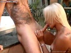cum tranny blowjob anal sex fucking