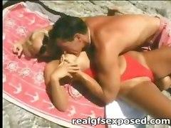 homemade outdoor public mmf bikini beach amateur anal blonde