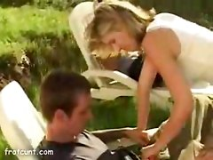 College slut public blowjob
