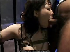 Hot amateur asian slave bondage girl