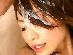 Maiko Oushiro (bukkake Compilation)