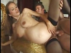 pregnant blowjob pussy licking anal sex fucking