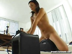 Teen Has Orgasm on Sybian