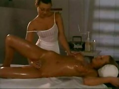 dildo lesbian oiled fingering pussylicking massage