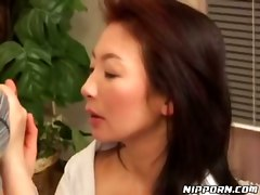 asian blowjob milf hairy pussy licking