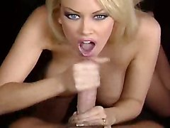 blonde oral blowjob cum facial jenna jameson