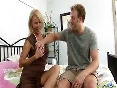 big tits blonde mature milf pussylicking blowjob handjob riding pornstar