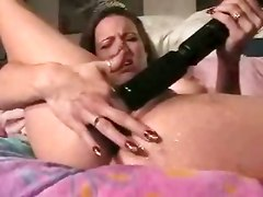 Amateur Homemade Toys Dildo Solo Woman Squirt masturbation squirting fetish wet wife
