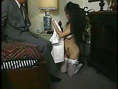 anal stockings cumshot blowjob brunette tattoo nurse pussyfucking