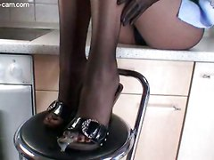 Pantyhose Toes Cum Lady Feet FetishCum BJ HJ Other Fetish Feet