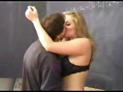 teacher blonde reality blowjob big tits pussylicking hardcore school