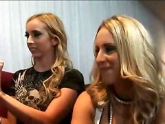 Blondes Group Sex Handjobs