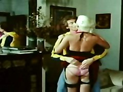 stockings cumshot hardcore blowjob hairypussy pussyfucking classic retro vintage