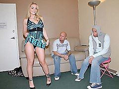 upskirt  tease  dress  cock ride  blonde Aline