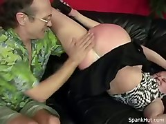 blonde amateur panty spanking fetish piercing softcore