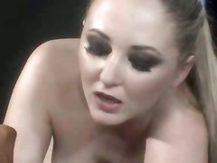 bondage pain anal dildo lesbian