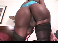 ebony booty big ass solo masturbation big tits stockings