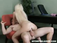 teen blonde riding piercing small tits doctor ass