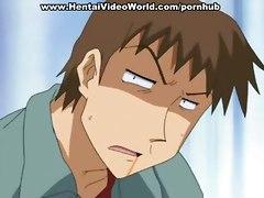 brunettea anime cartoon hentai