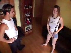 Real Amateur Couple Homemade Filmed