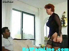 stockings cumshot hardcore interracial blowjob mature redhead bigtits pussylicking ebony pussyfucking german