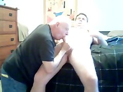 daddies blowjob cum cock mature younger handjob bo