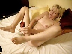 Amateur Hairy Masturbation Sex Toys